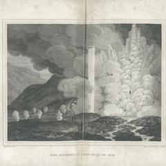 The Geysers, as seen July. 30. 1814.