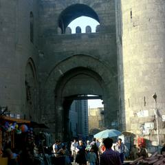 Bab Zuwayla Gate in Old Cairo