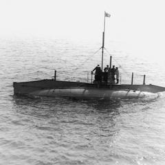 Japanese submarine.