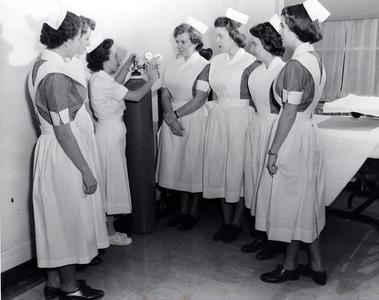 Nursing Student Receiving Instruction