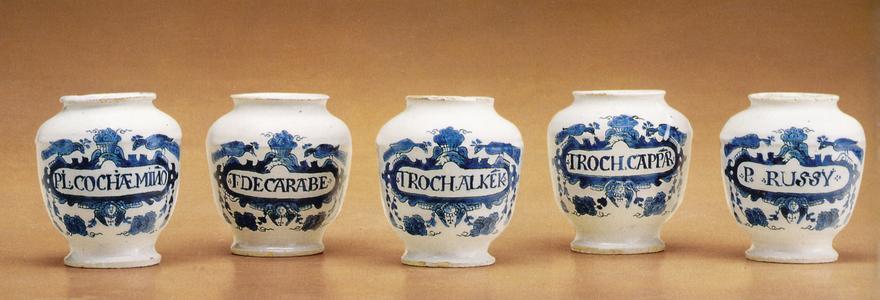 Apothecary pots (set)