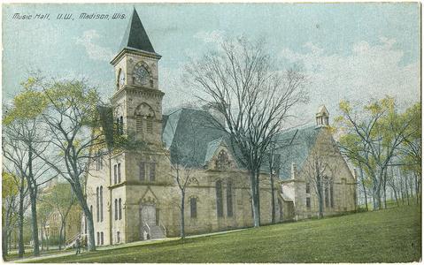 Music Hall, U.W., Madison, Wisconsin