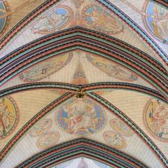 Salisbury Cathedral presbytery vaulting