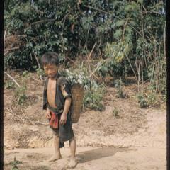 White Hmong boy
