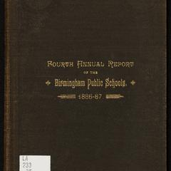 Annual report of the Birmingham public schools