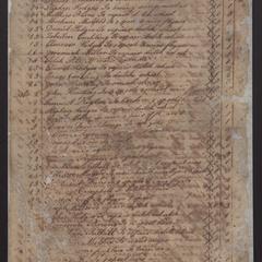 Accounts of Nathaniel Dominy IV, 1796