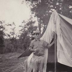 Aldrich at camp