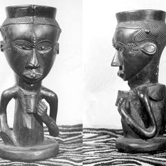 Kuba-Bushong Cup for Palm Wine