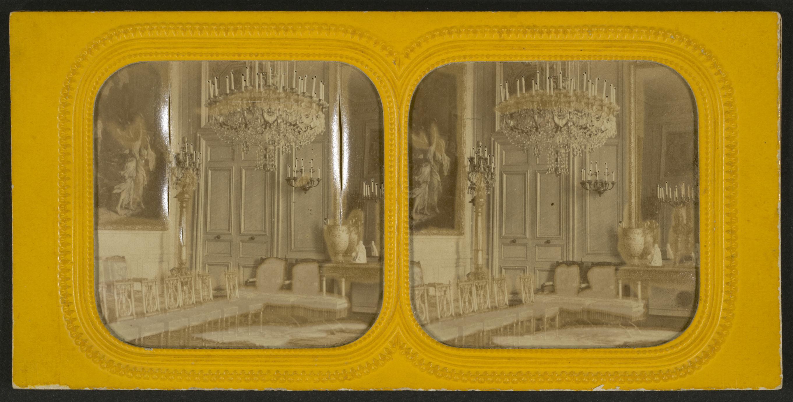 Salon de l'Empereur à Compiègne (1 of 4)