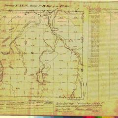 [Public Land Survey System map: Wisconsin Township 37 North, Range 16 West]