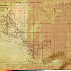 [Public Land Survey System map: Wisconsin Township 22 North, Range 13 West]