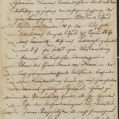 [Letters, on one leaf of paper, from Ing. von Schmitt to Ludwig von Sternberger's mother and from Ludwig to his sister Hanni, undated, but presumed before 1848]