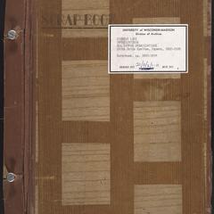 Sigma Delta Epsilon scrapbook, ca.1907-1974