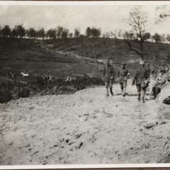 Bei Verdun i. Sommer 1916 Die Brüleschlucht 10 Minuten hinter Fort Duaumont