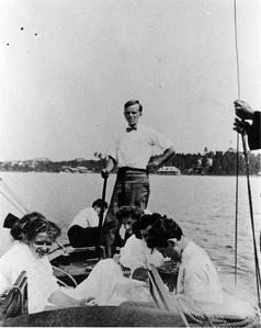 Aldo Leopold at Les Cheneaux Club