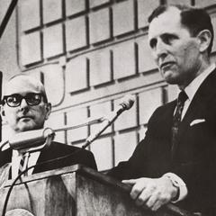 UW-Waukesha dedication ceremony, 1967