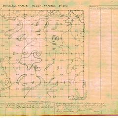 [Public Land Survey System map: Wisconsin Township 22 North, Range 17 East]