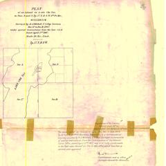 [Public Land Survey System map: Wisconsin Township 37 North, Range 09 West]