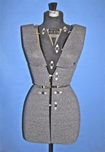 Fairloom push button adjustable dress form