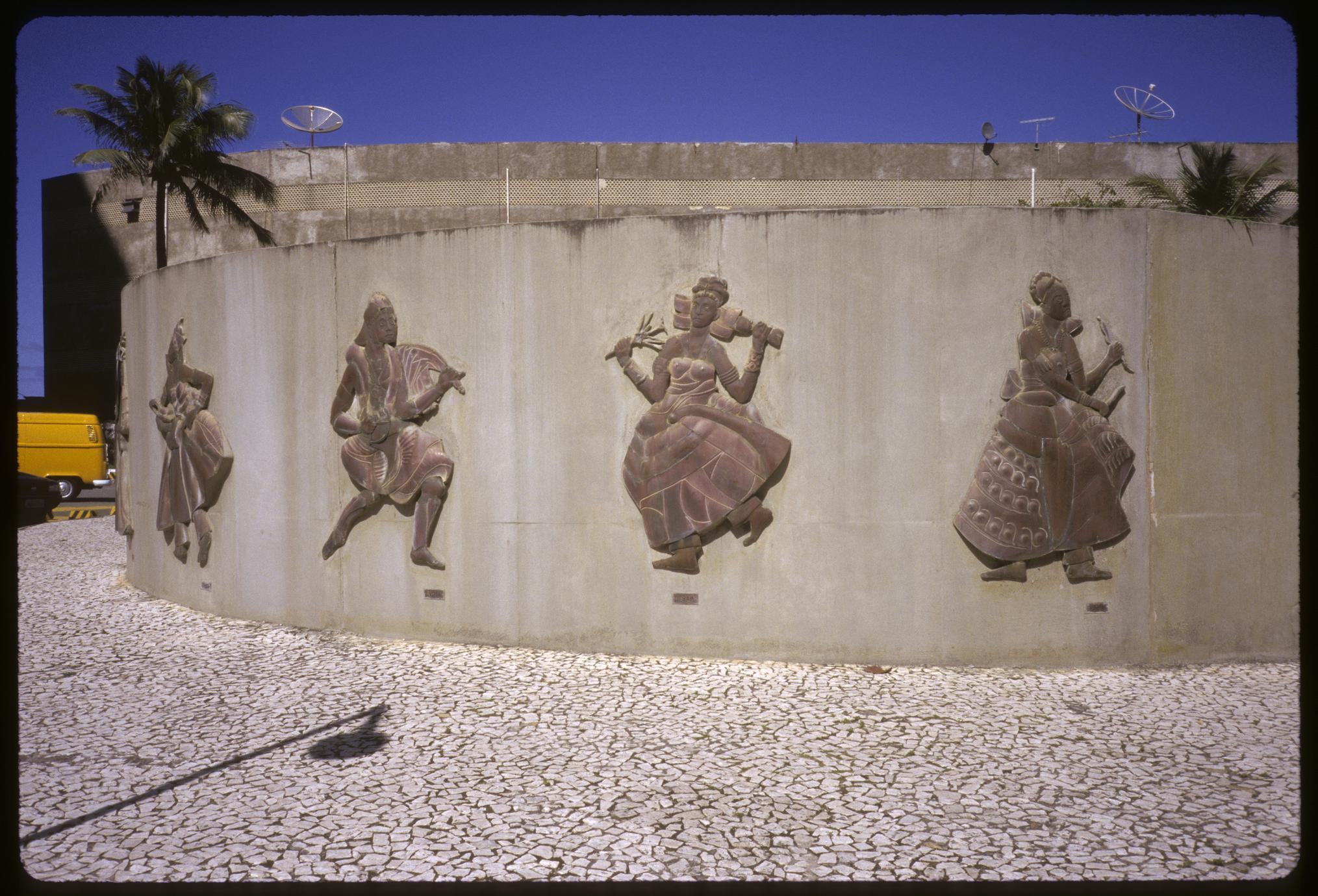 Wall of Orixa (Orisa / Orisha) Sculptures by Mario Cravo (1 of 11)