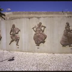 Wall of Orixa (Orisa / Orisha) Sculptures by Mario Cravo