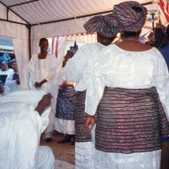 Ifaturoti wedding participants