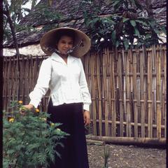 Le in garden