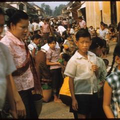 Lao New Year--on the street