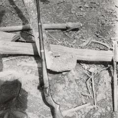 A White Hmong homemade gun in Houa Khong Province