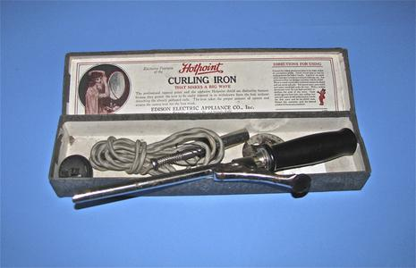 Hotpoint electric curling iron