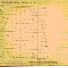 [Public Land Survey System map: Wisconsin Township 28 North, Range 16 West]