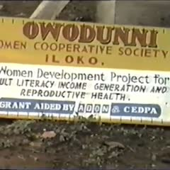 Owodunni Women's Cooperative Society