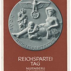 Reichsparteitag Nürnberg 2-11. September