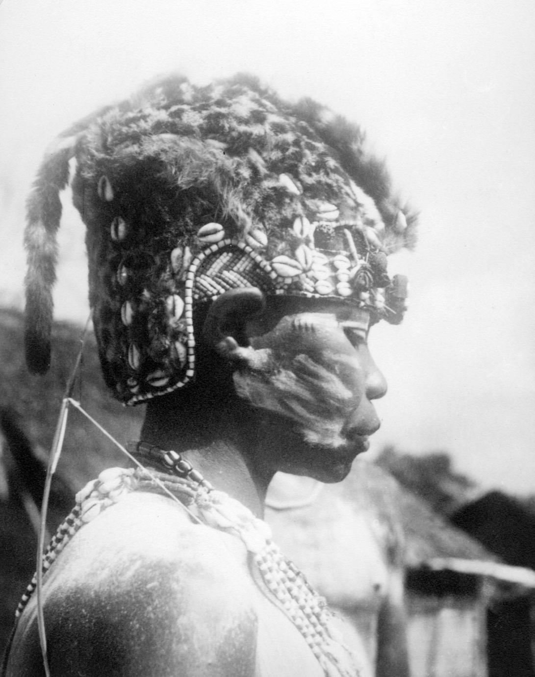 "Kuba-Bushong Religious Specialist ""God's Medicine Woman"" (Ngang a Ncyem)"