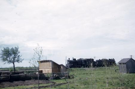 View of a train in the countryside