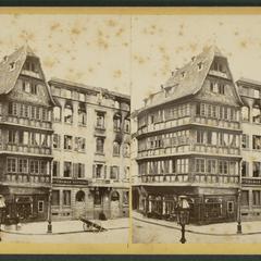 Strasbourg, après le bombardement