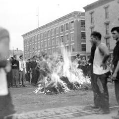 Class Rush Bonfire