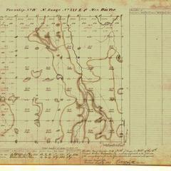 [Public Land Survey System map: Wisconsin Township 04 North, Range 21 East]