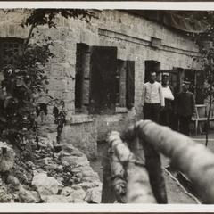 Vor Reims im Ruhequartier
