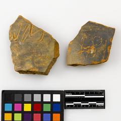 Sagger fragments