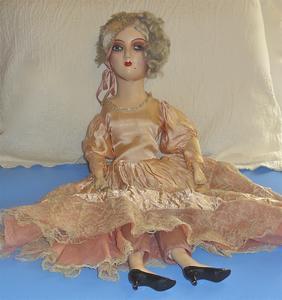 Art Deco boudoir doll