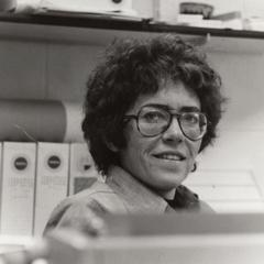 Art professor Diane McKay candid