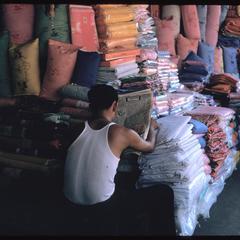 Morning Market : cloth