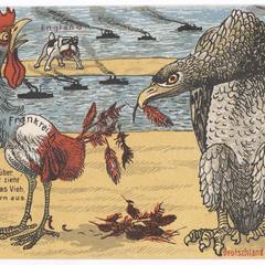 Komm doch herüber. Helf' mir, sonst zieht mir der Adler, das Vieh, noch alle Federn aus.
