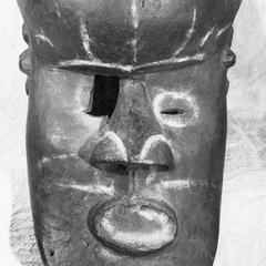 Kuba-Shoowa Bwom Mask, Front View