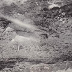 1918 Training camp - stratified gravels