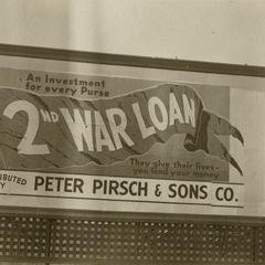 World War II billboard