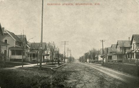 Garfield Avenue, Evansville, Wisconsin