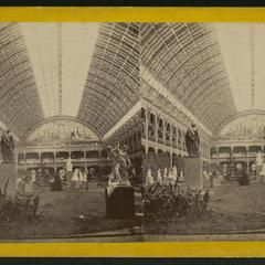 Interieur du Palais de l'Industrie