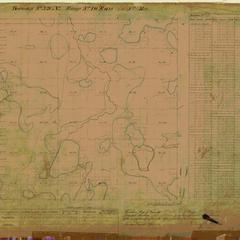 [Public Land Survey System map: Wisconsin Township 39 North, Range 10 East]